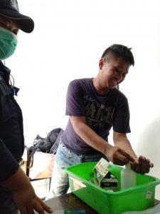 Covid-19 Prevention Jet Commerce Fulfillment Center - Hand Sanitizer