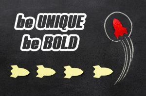 membangun relasi dengan online customer - unique being bold source: freepik