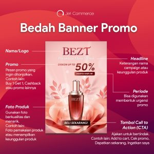 E-commerce friendly banner to communicate your promotion